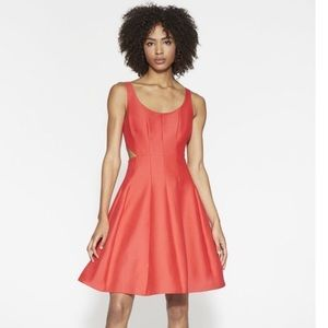 New with tags Halston heritage mini cut out dress